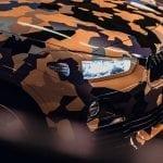 Morro del BMW X2 camuflado