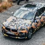 Techo del BMW X2 camuflado