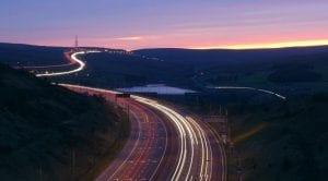 Carretera que absorbe la polución