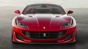 Frontal del Ferrari Portofino