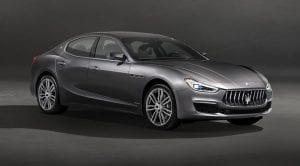 Frontal del Maserati Ghibli Granlusso