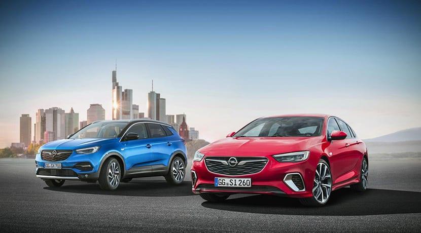 Opel Insignia y Opel Grandland