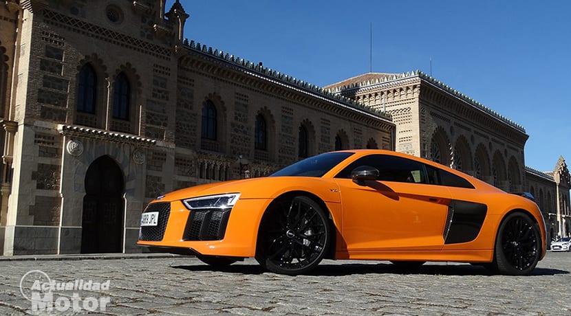 Prueba Audi R8
