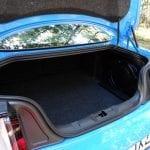 Prueba Ford Mustang GT Maletero