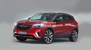 Recreación Opel Grandland X GSi