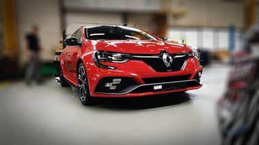 Se filtra el Renault Mégane RS
