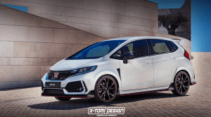 Render de un Honda Jazz Type R