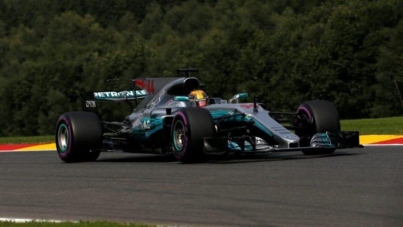 Hamilton gana en Bélgica 2017