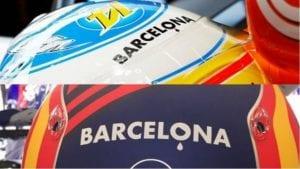Barcelona Atentado 17 de Agosto Cascos pilotos conmemoriación