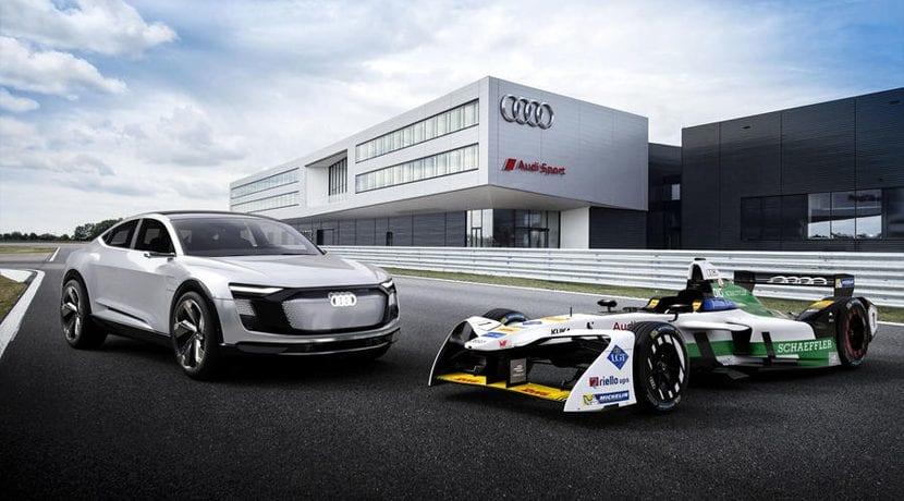 Audi Sport ABT Schaeffler E-Tron FE04