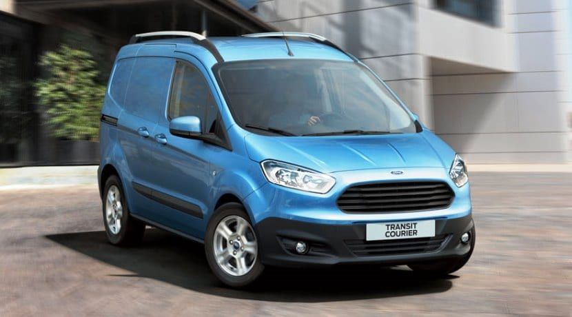 ford transit courier ficha t cnica carrocer as mec nicas y precios. Black Bedroom Furniture Sets. Home Design Ideas