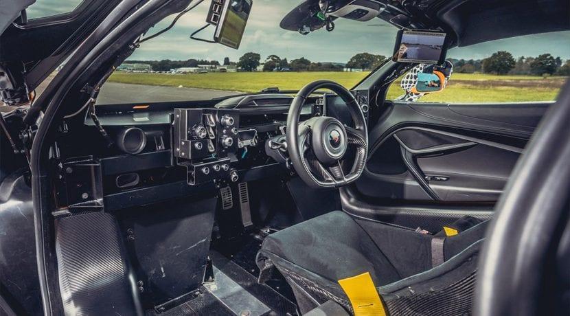 McLaren BP23 Interior