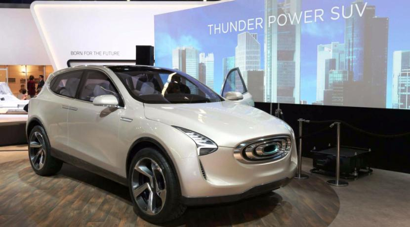 Thunder Power Future Vision SUV Concept