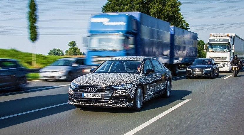Audi aceptará la responsabilidad si el A8 autónomo tiene un accidente