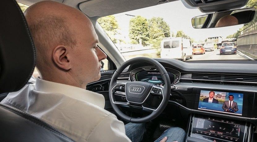 Audi aceptará la responsabilidad cuando funcione su sistema AI Traffic Jam Pilot