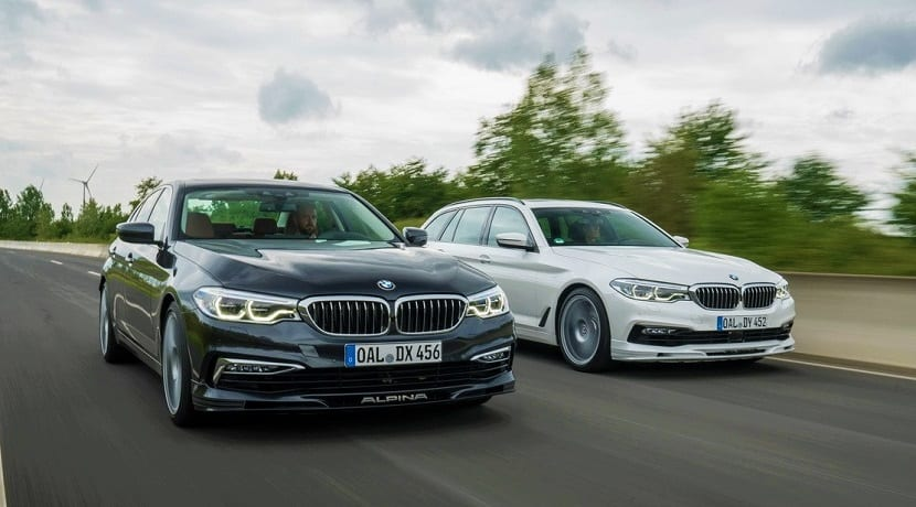 Versiones del Alpina D5 S: berlina y Touring
