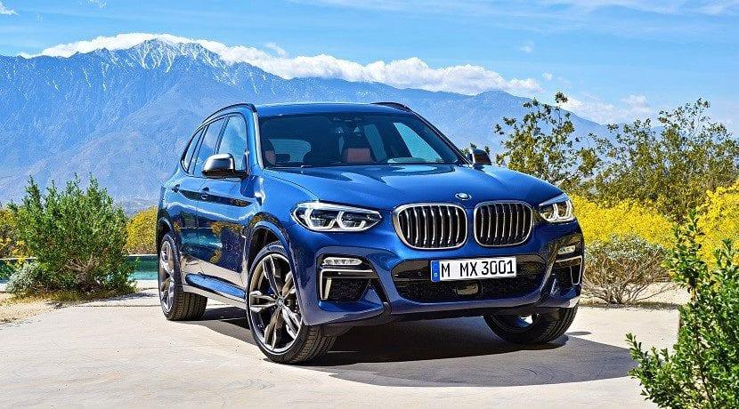 M40i frontal (símil del BMW X3 M)