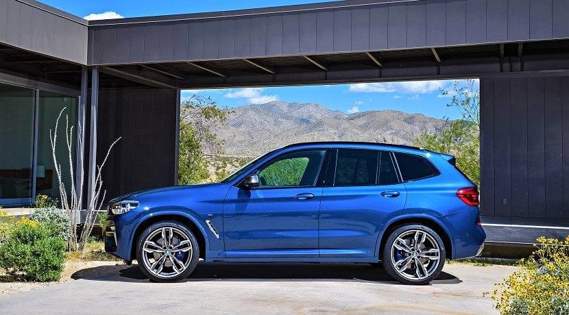 M40i lateral (símil del BMW X3 M)