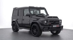 Frontal del Brabus 900 Mercedes AMG G65