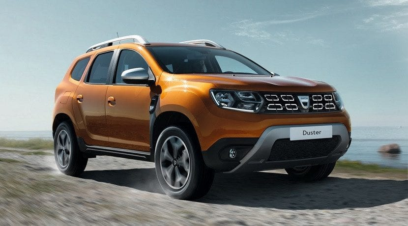 Frontal del Dacia Duster 2018