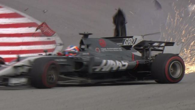 Haas de Grosjean Malasia 2017
