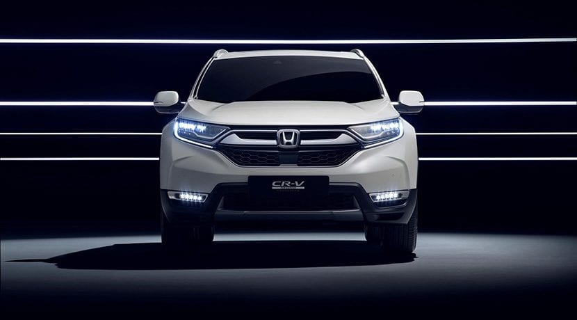 Prototipo Honda CR-V Hybrid