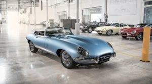 Jaguar E-Type Concept Zero Eléctrico