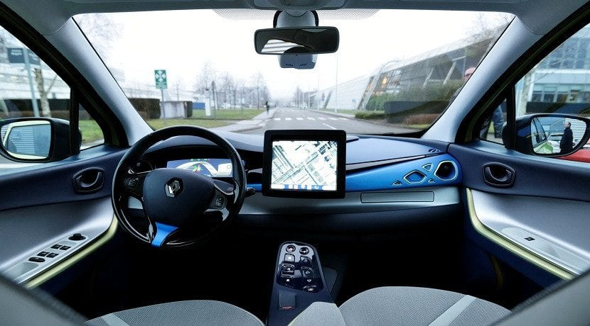 conducción autónoma en Europa de L3Pilot interior