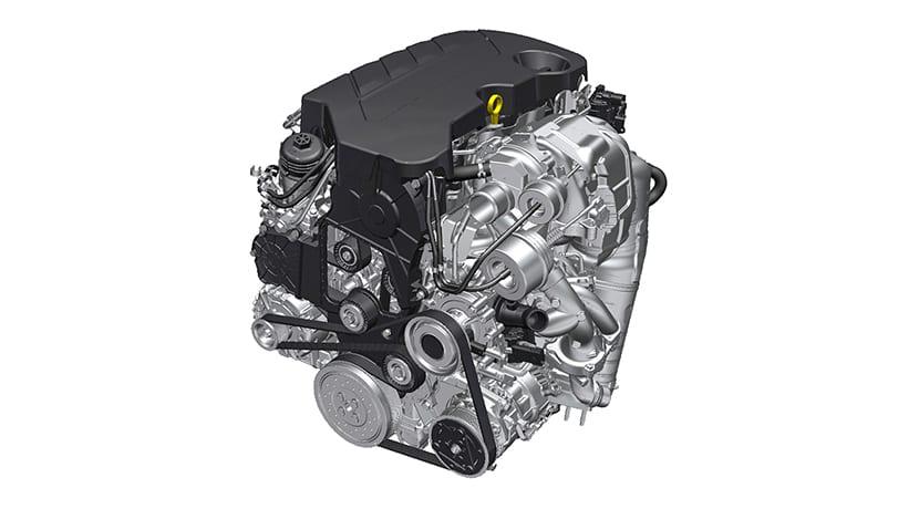 Motor diésel 2.0 BiTurbo de Opel