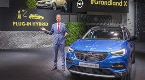 Opel confirma un Opel Grandland X híbrido enchufable