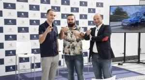 Pantomima Full y Peugeot mostrando los sistemas de seguridad activa ADAS