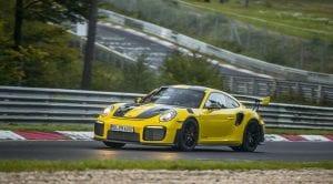 Porsche 911 GT2 RS récord en Nürburgring
