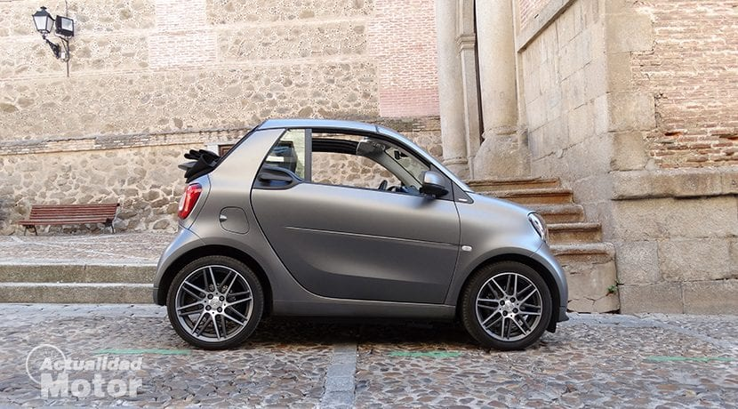 Prueba Smart Brabus Fortwo Cabrio