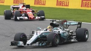 Mercedes y Ferrari GP de Italia 2017