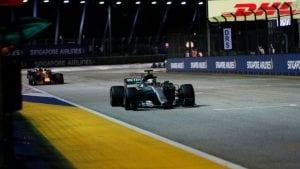 Hamilton líder en GP de Singapur 2017