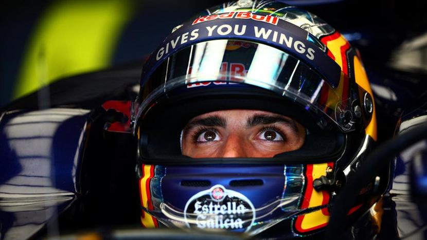Carlos Sainz en Toro Rosso