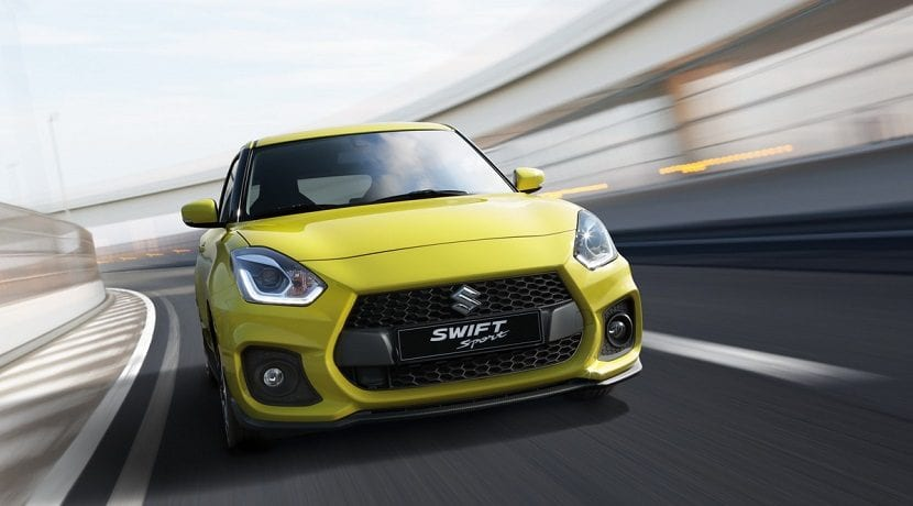 Frontal del Suzuki Swift Sport 2017