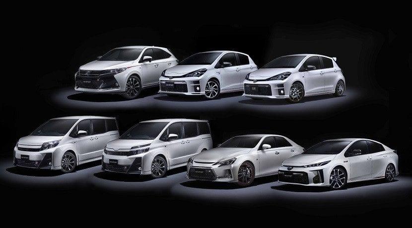 Los Toyota de alto rendimiento Versiones GRMN