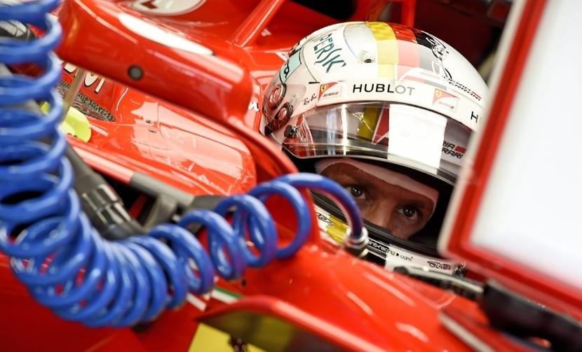 Vettel Ferrari 2017
