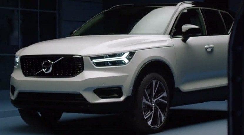 Filtradas la imágenes del frontal del nuevo Volvo XC40