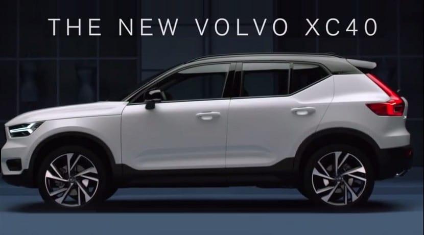 Filtradas las imágenes del Volvo XC40
