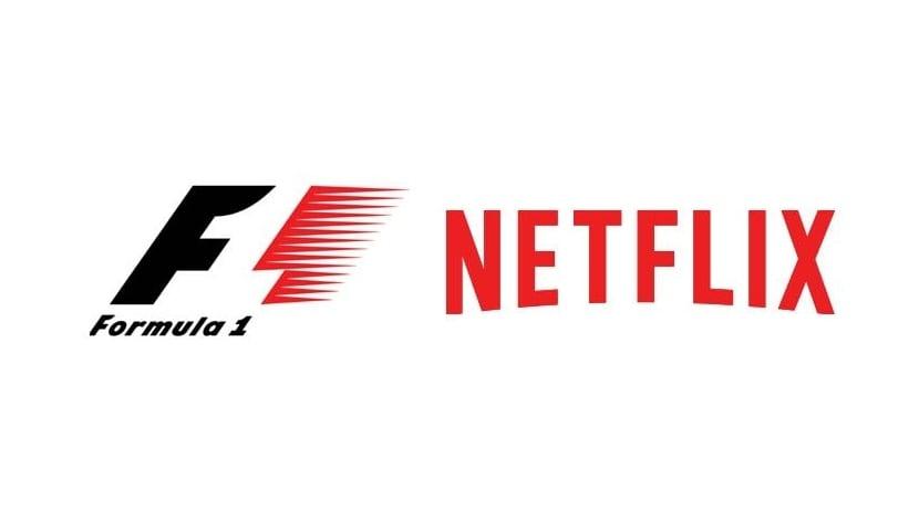 Logo de la F1 y de Netflix