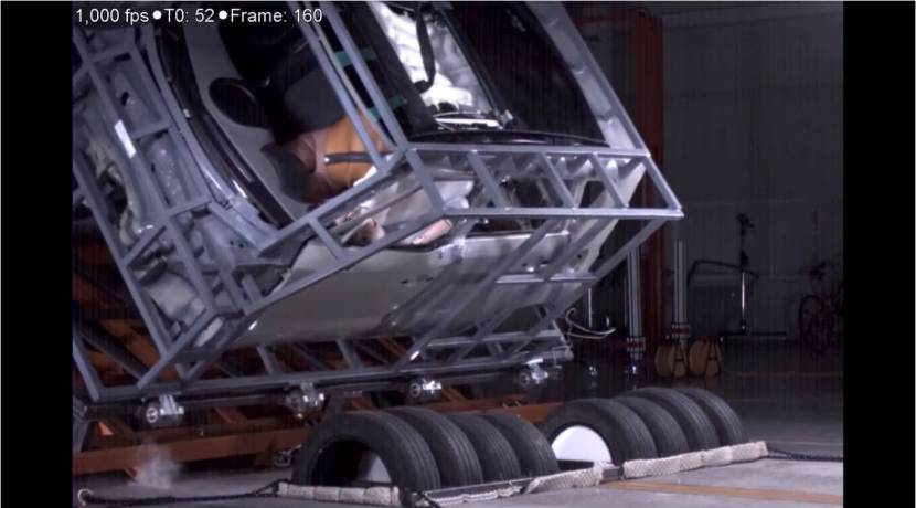 Hyundai Mobis airbag techo