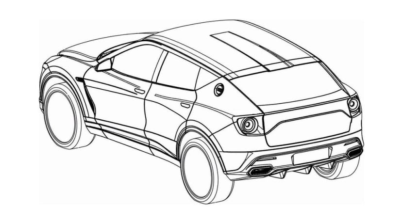 Lotus SUV Oficina de Patentes