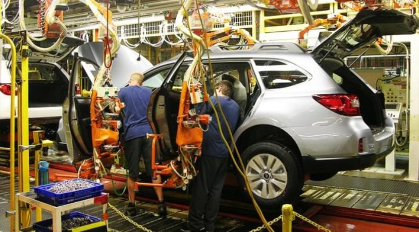 Subaru fábrica