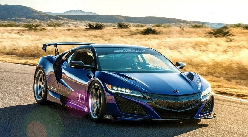 Frontal del Acura NSX Dream Project