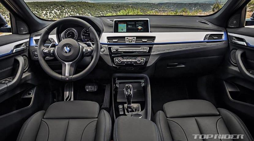 BMW X2 filtrado