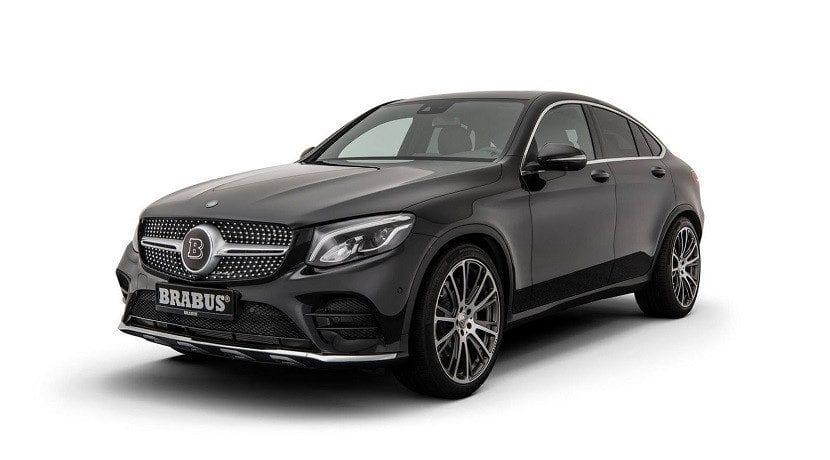 Brabus B25.2 para el Mercedes GLC Coupé (frontal)