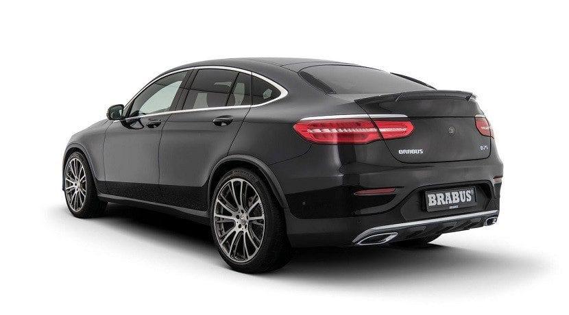 Brabus B25.2 para el Mercedes GLC Coupé (trasera)