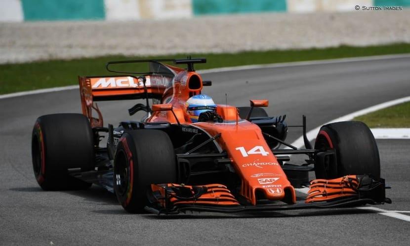 Fernando Alonso F1 2017 en el GP de Japón
